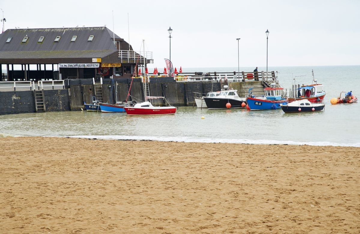 Broadstairs is a quintessential Victorian seaside town