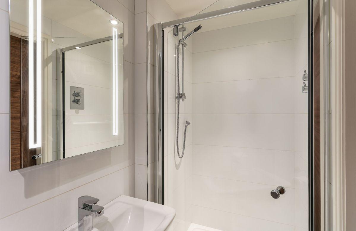 Ground floor: Shower room.