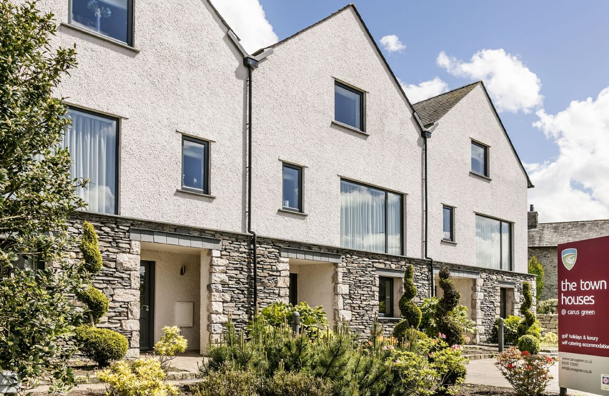 Townhouse 5 is one of three luxury properties located next to the first tee of Carus Green Golf Club