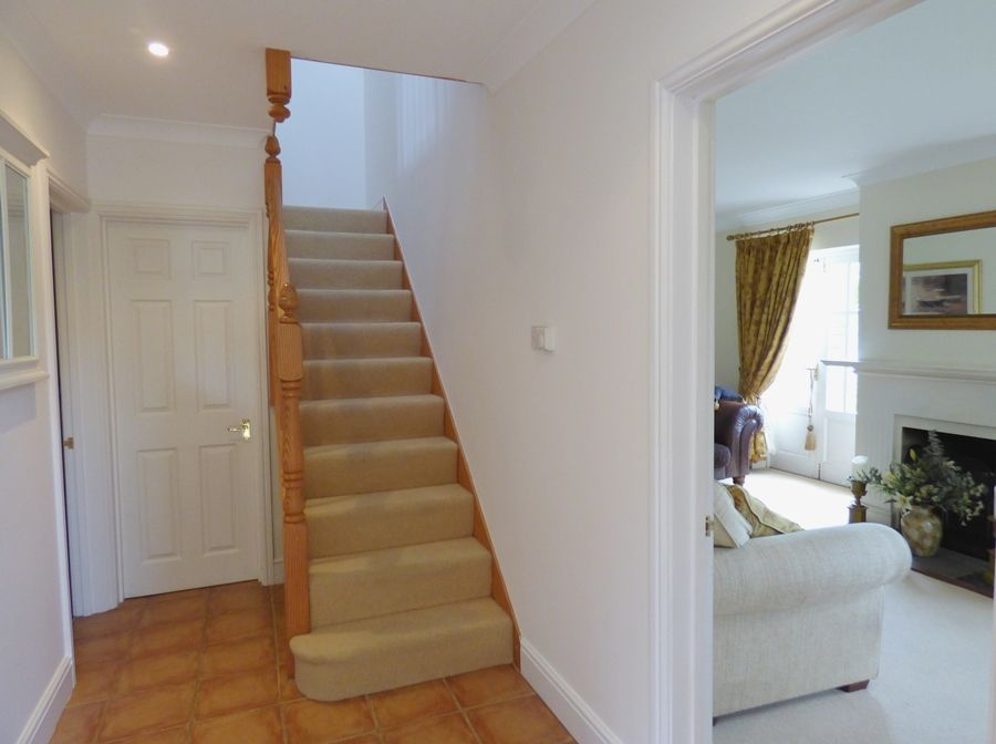 Ethelbert House | Hall and stairs