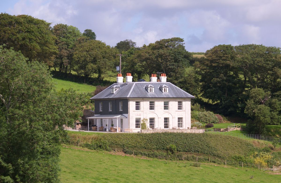 The Vean is a stunning Georgian country house on the Caerhays Estate near St Austell in Cornwall