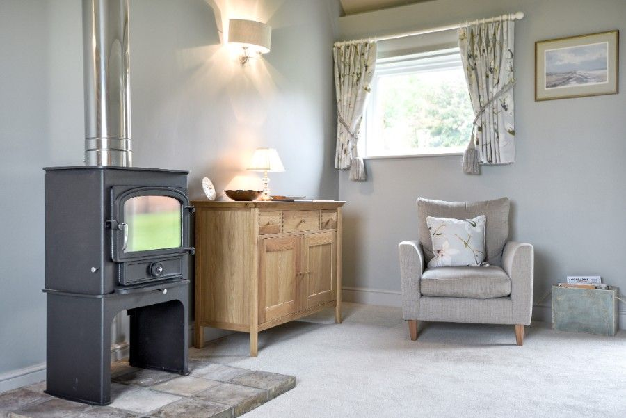 Samphire Barn | Wood-burner