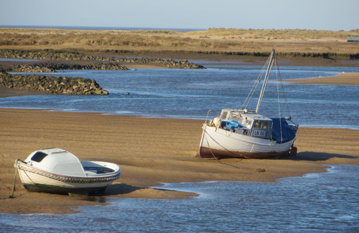 The creeks at Burnham Overy Staithe