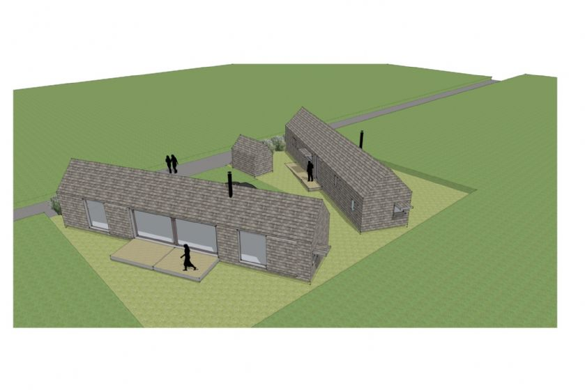 Plan of Proposed Site - The Listening Station and The Watch Room