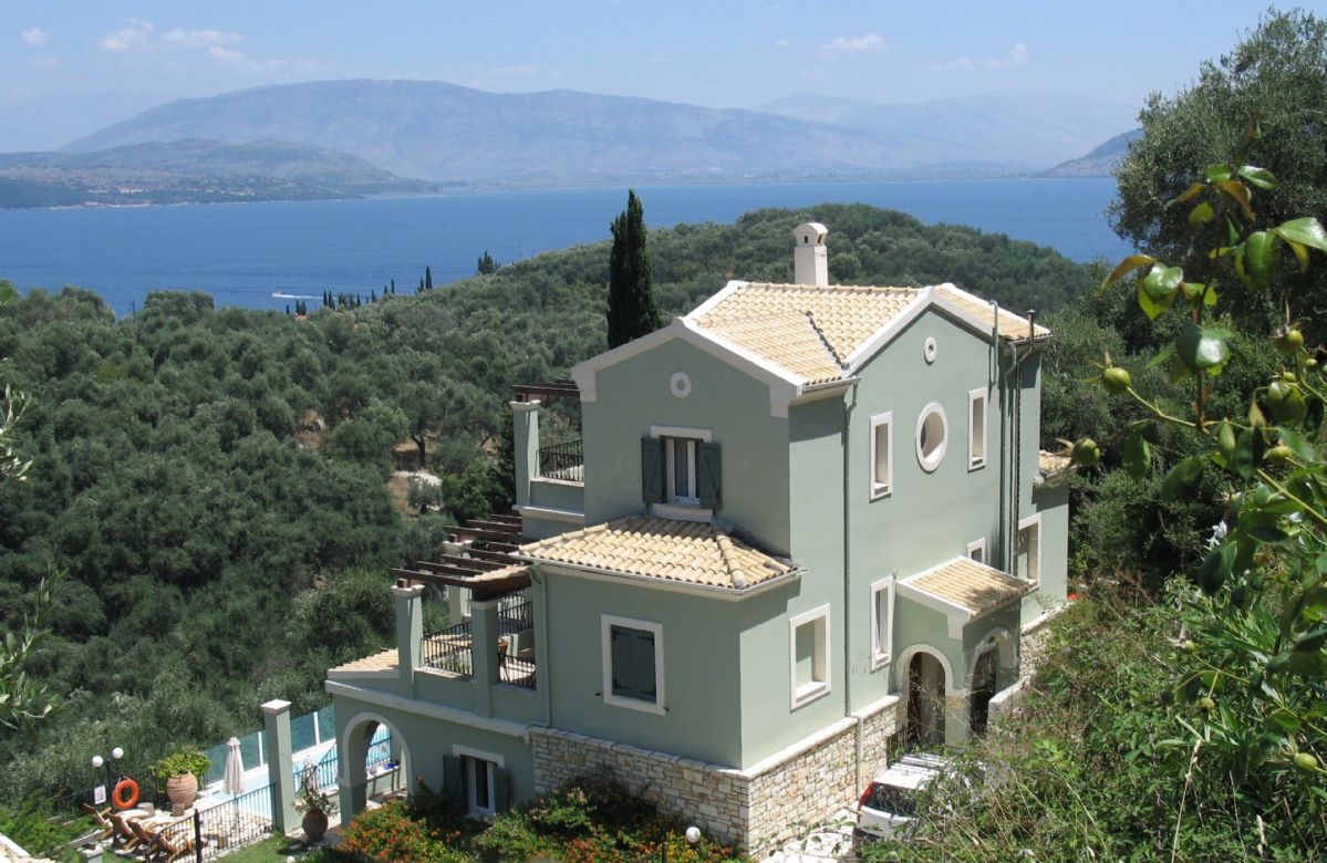 Villa Elia, Corfu, Greece
