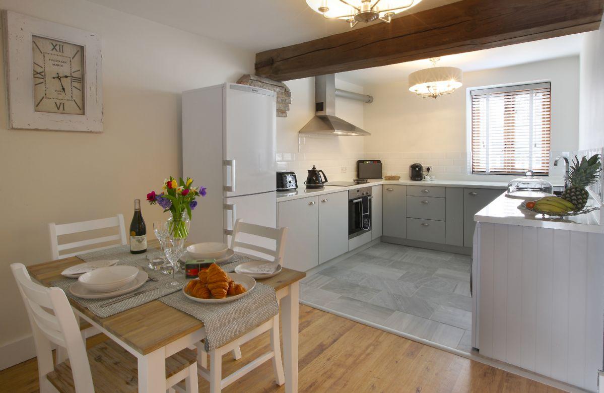 First floor: Kitchen/breakfast room