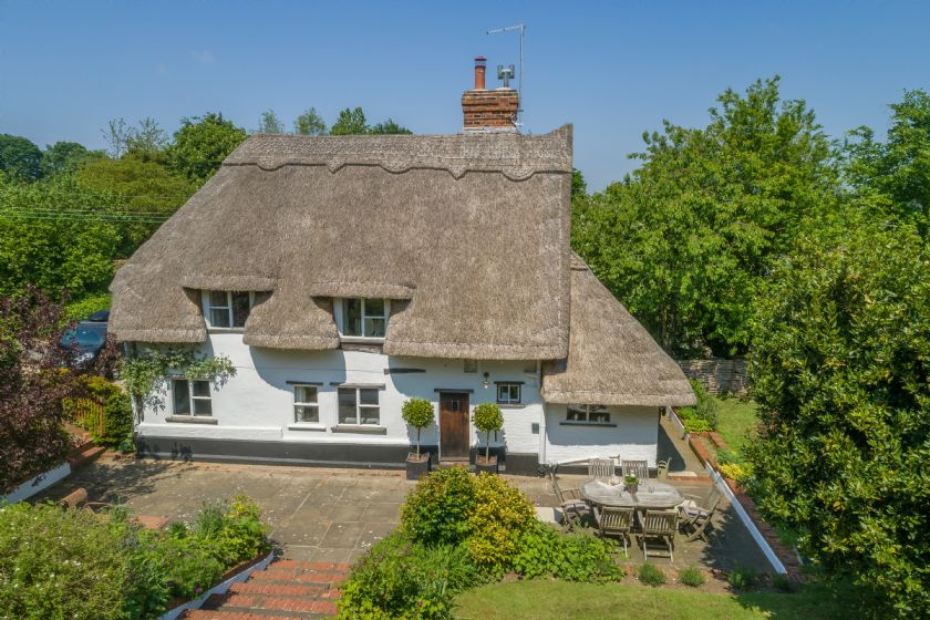 This picture perfect cottage in the Dedham vale village of Stoke-by Nayland dates back to the 1600's