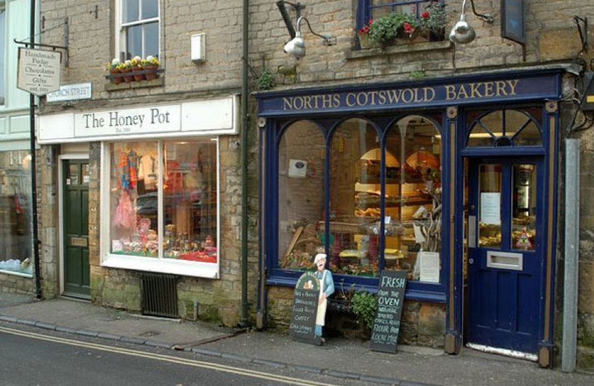 Fabulous eateries and bespoke shops in Stow-on-the-wold.