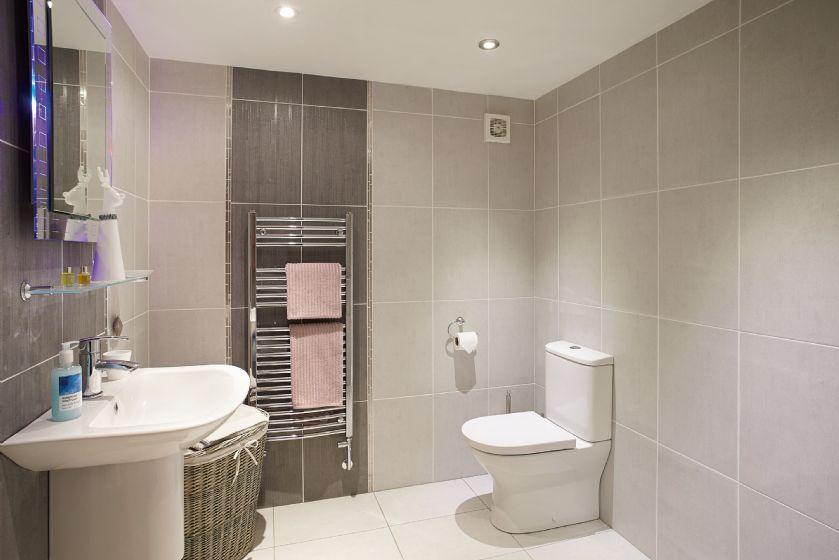 Ground floor:  Family shower room