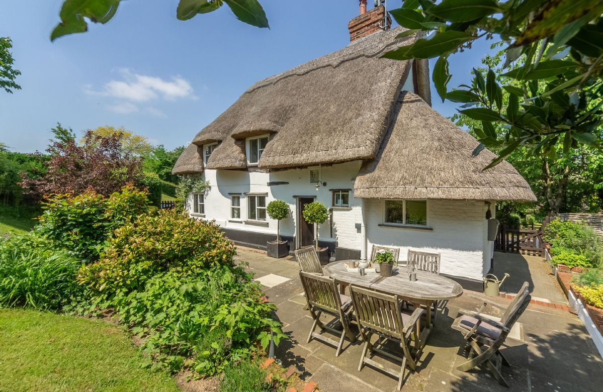 Thatcher's Cottage, Suffolk, England
