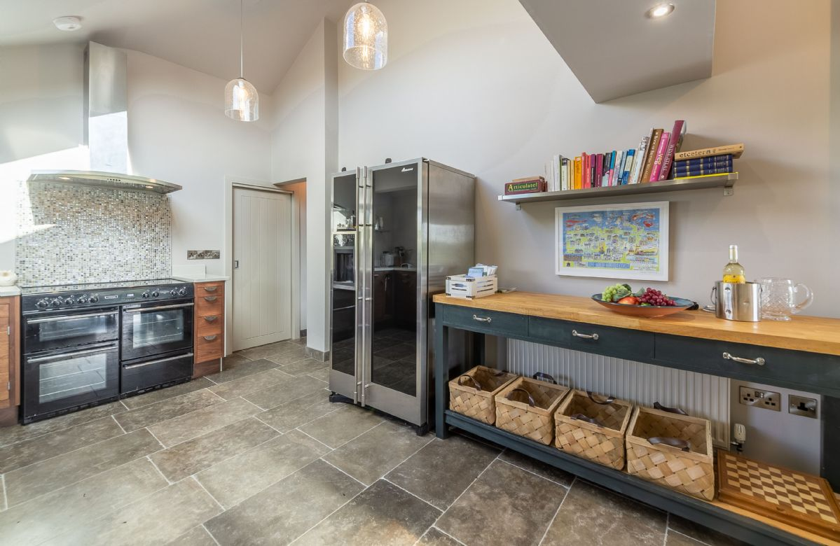 Ground floor: Open plan living, dining and kitchen space