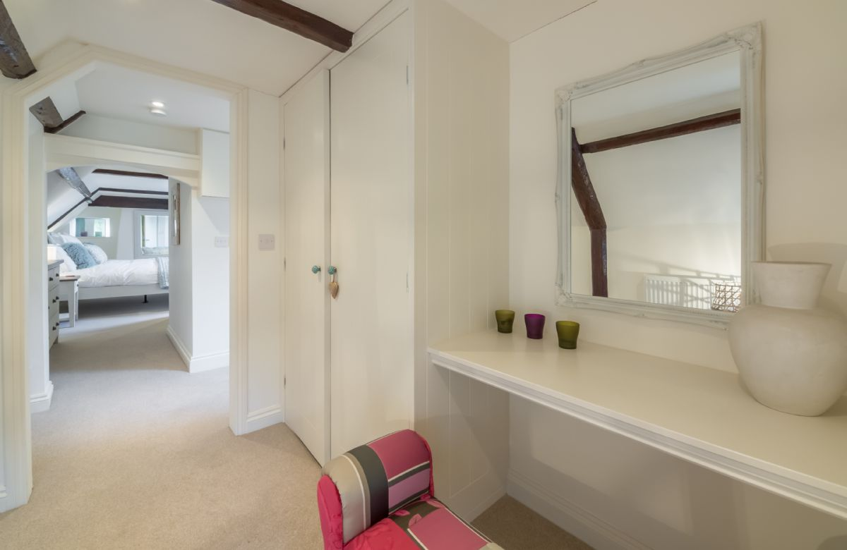 Top floor:  Dressing room