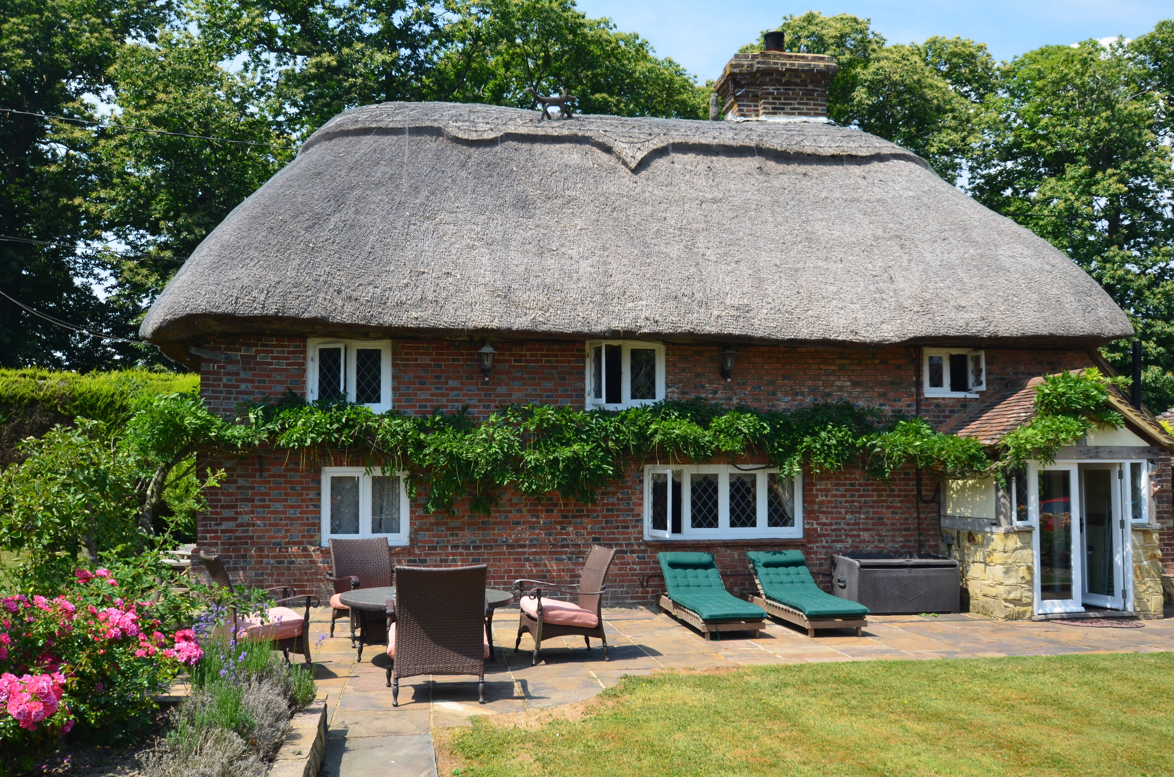The Thatched Cottage, Stevens Crouch near Battle