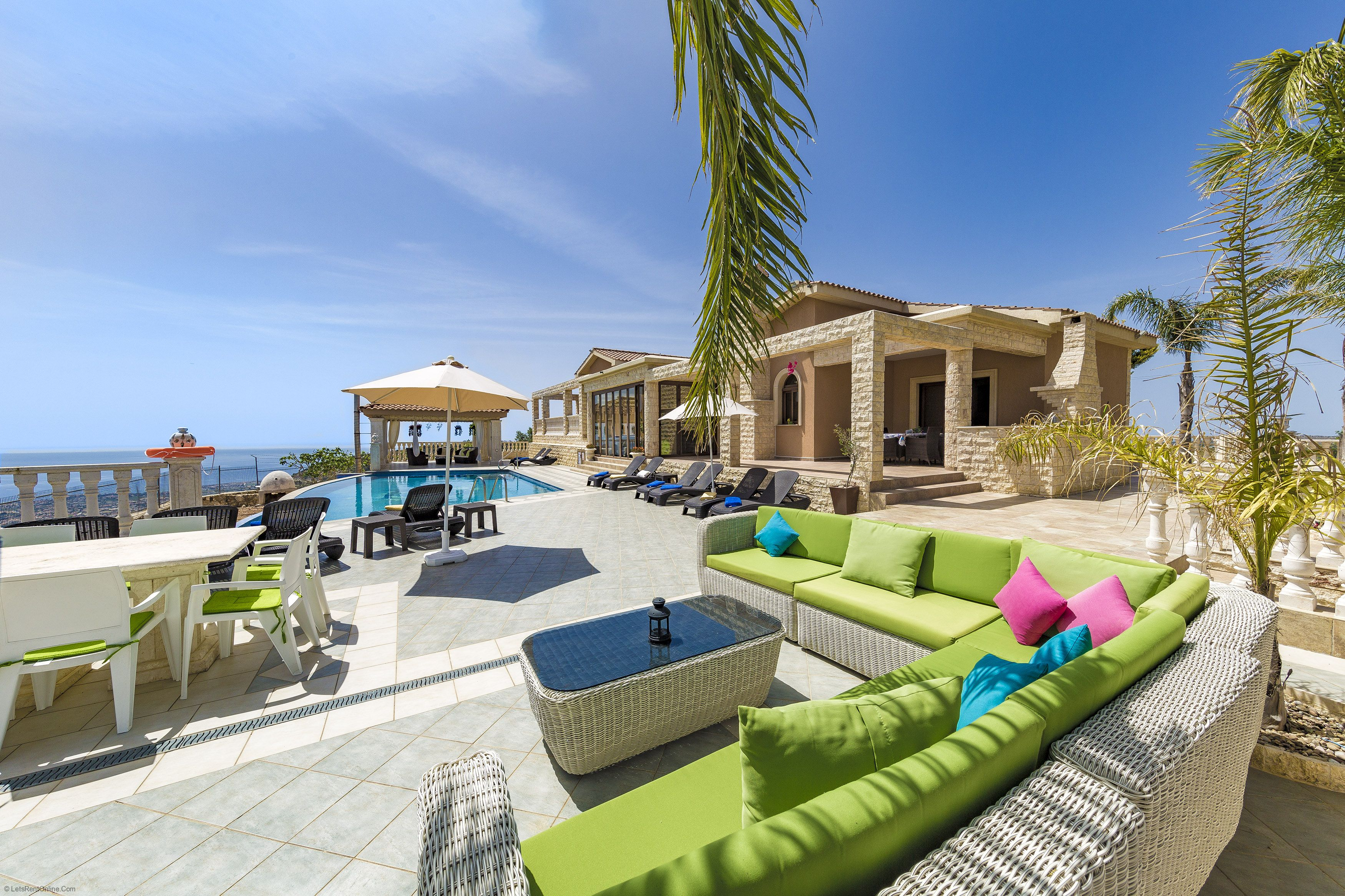 Kathikas Villa Kyparissos - 4 Bedroom Villa with Private Pool