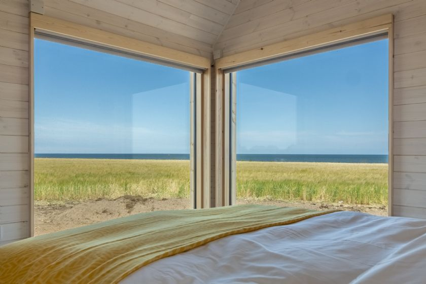 stunning sea views from the comfort of your own bedroom