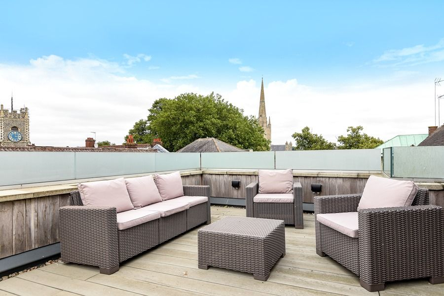 Cathedral Loft | Roof terrace