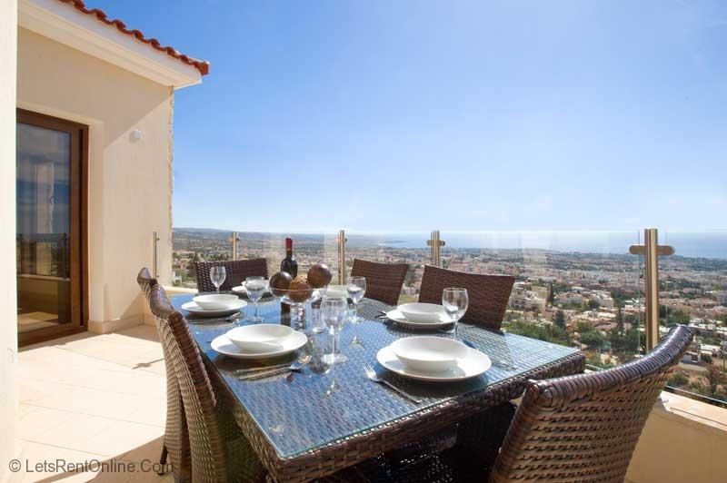 Peyia Beau View Apartment Balcony & Views