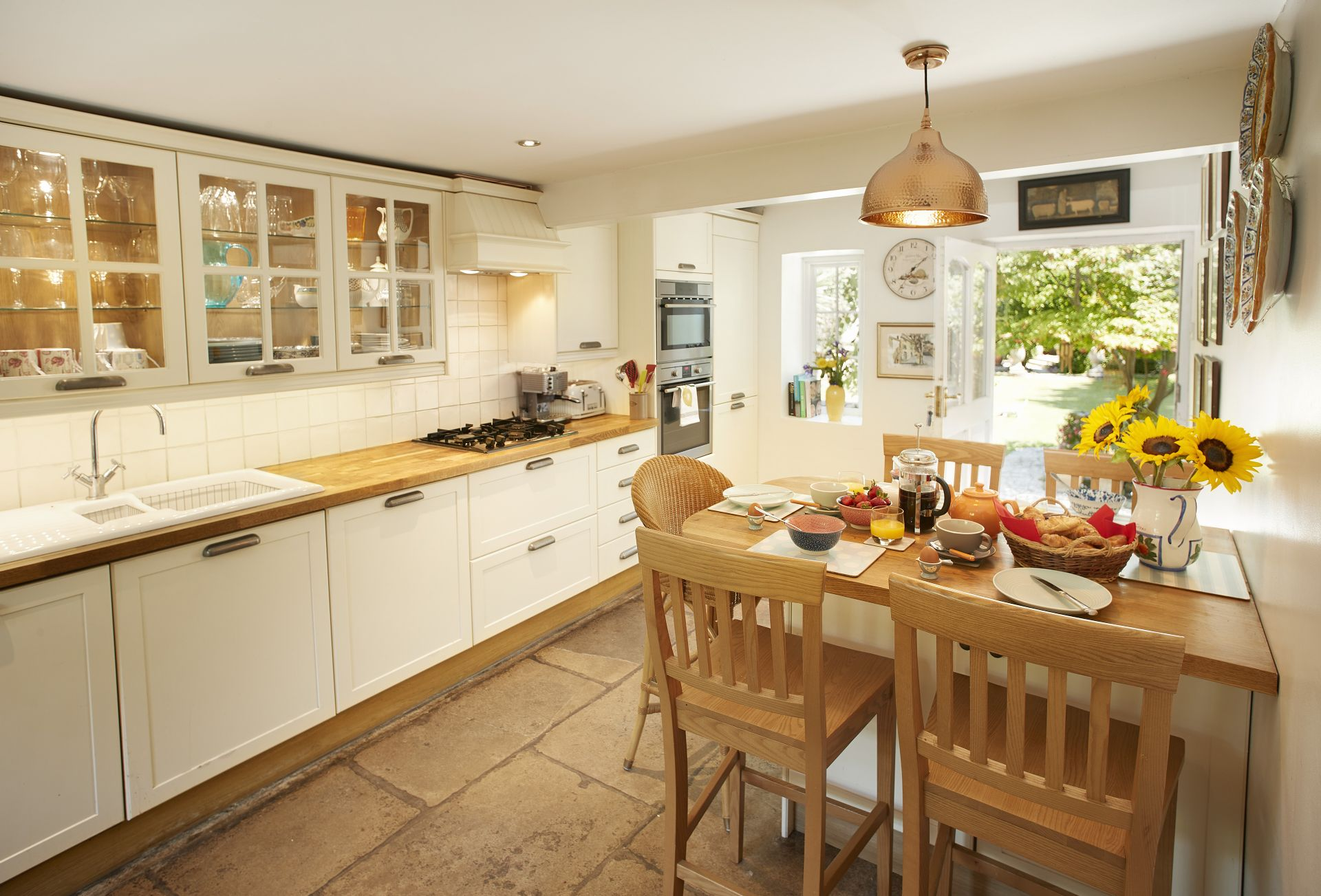 Ground floor:  Breakfast kitchen