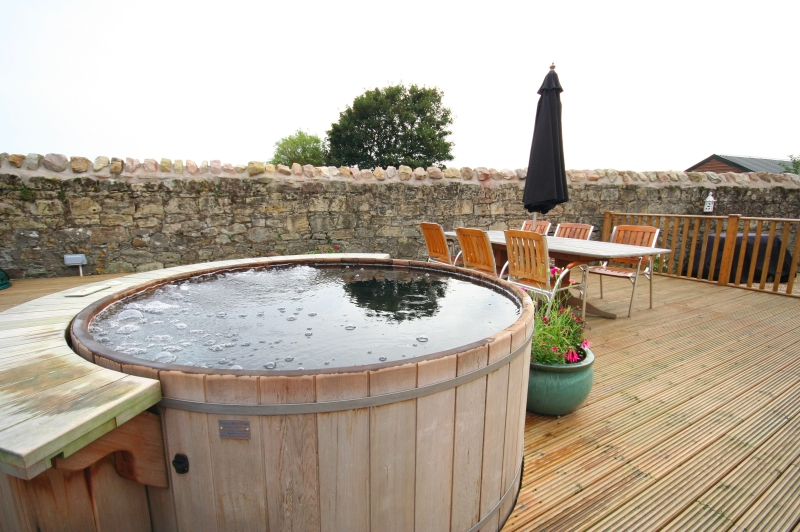 Northumberland Holiday Cottage With Hot Tub Hastings House In