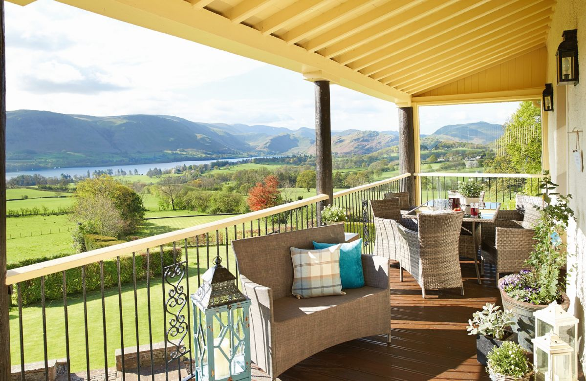 This unique property provides exceptional views of Lake Ullswater and the surrounding scenic fells