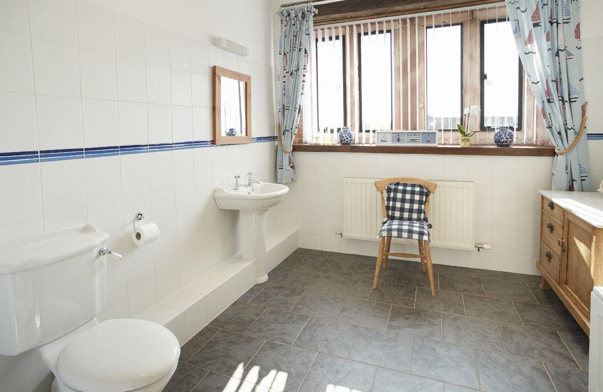 Ground floor:  Family bathroom