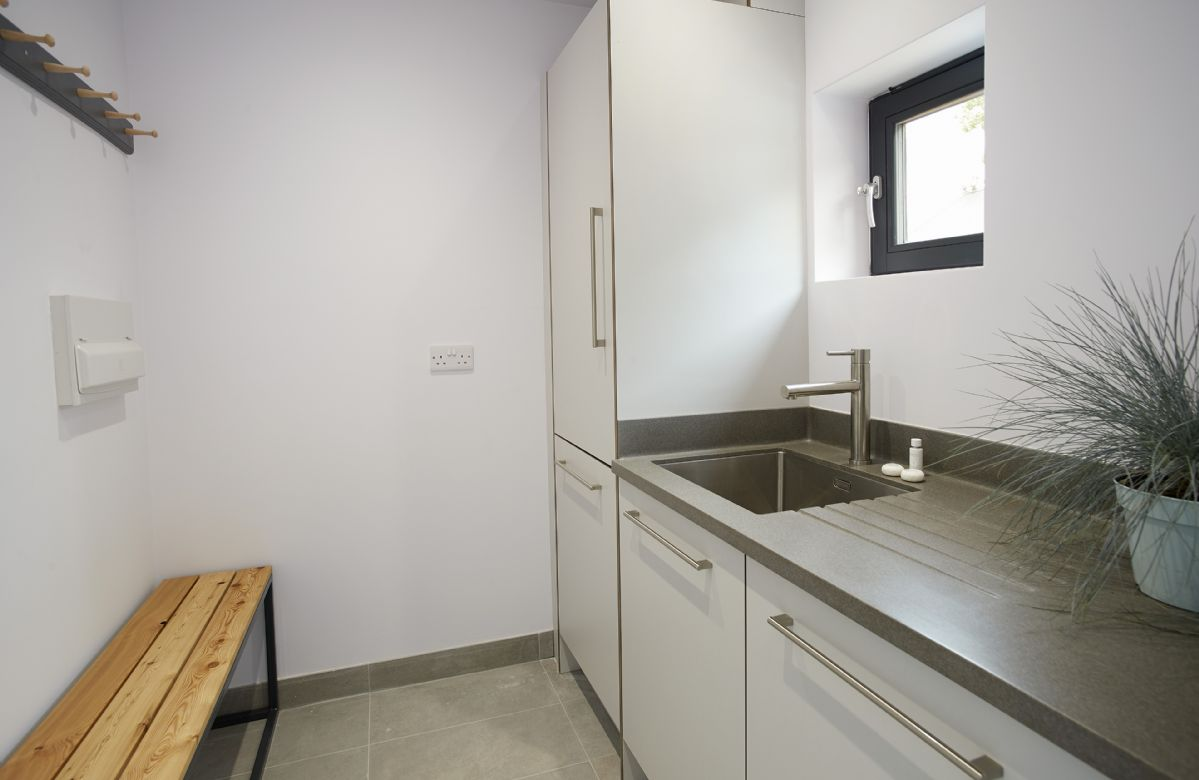 Ground floor:  Utility room