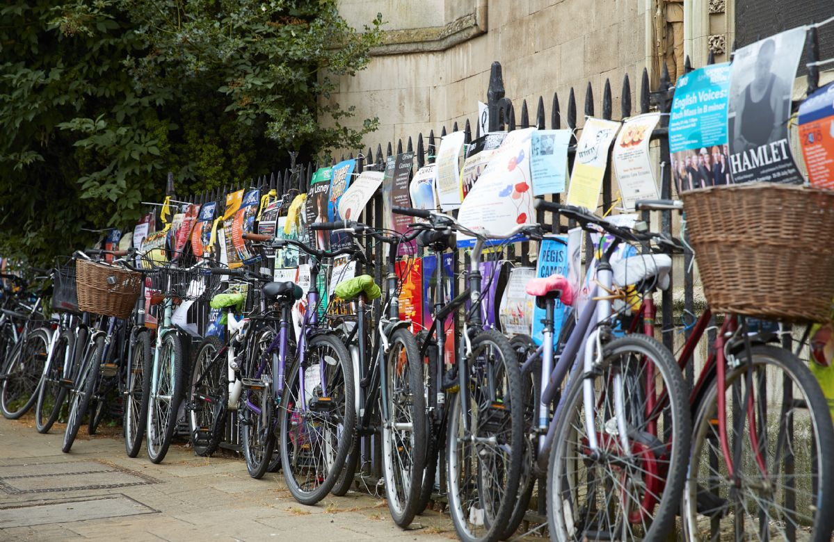 Hire a bicycle to explore Cambridge