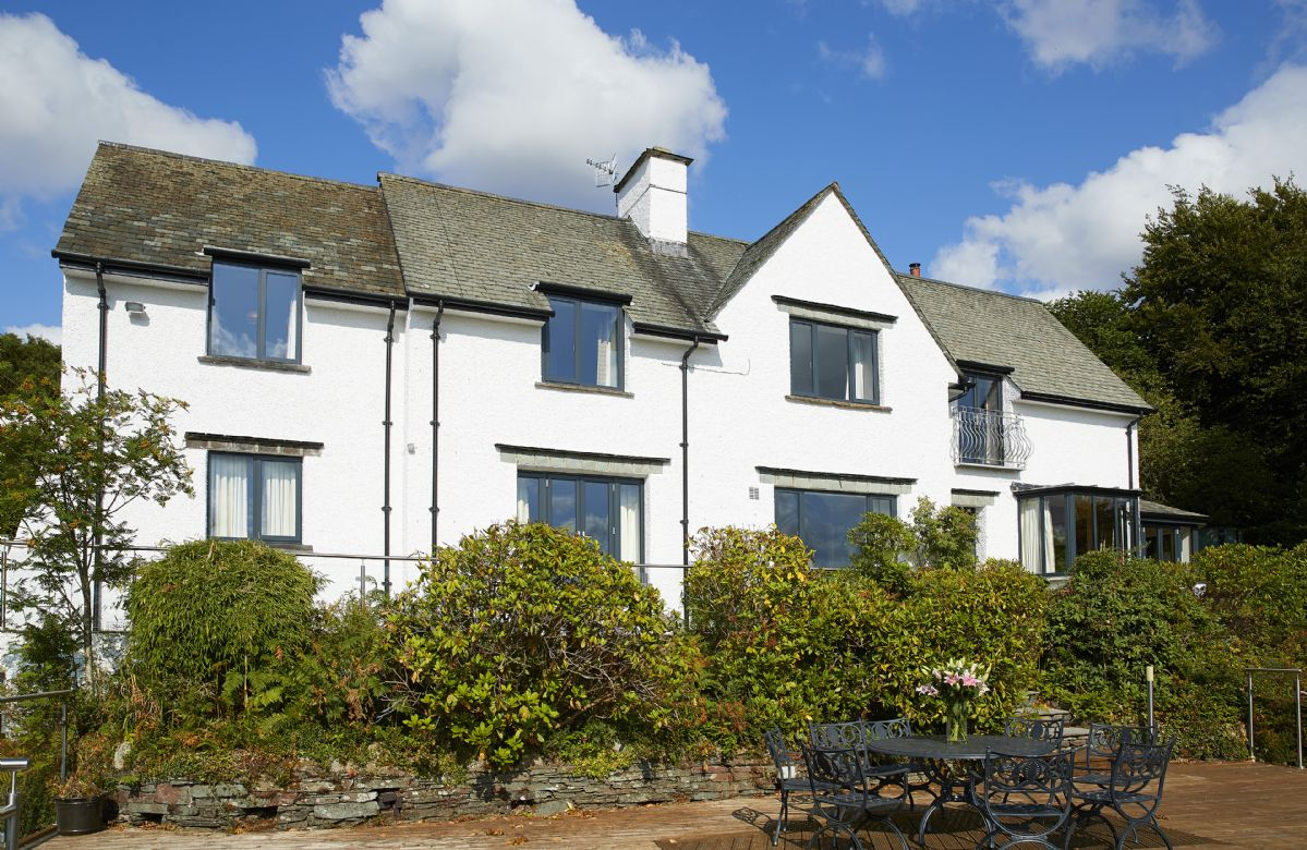 Cherry Trees is set within beautiful landscaped gardens in a unique, elevated location overlooking Lake Windermere