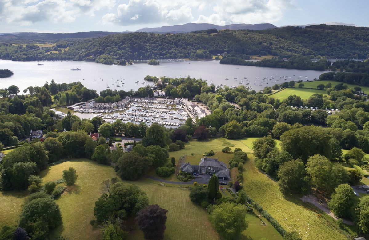 The house is situated on the outskirts of the popular town of Bowness on Windermere