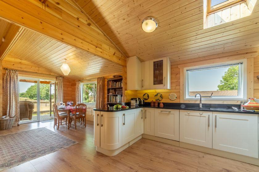 Ground floor: Open plan kitchen leading through to the sitting room