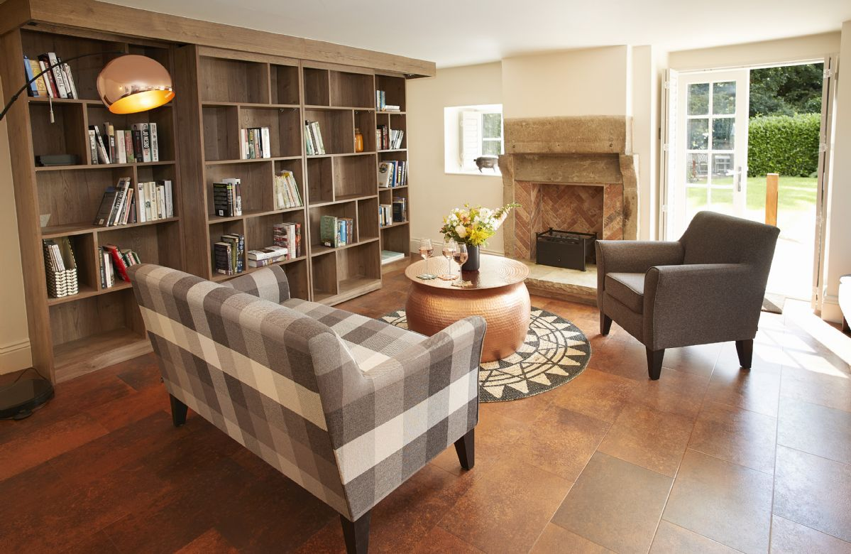 Ground floor:  Morning room with extensive choice of books to read