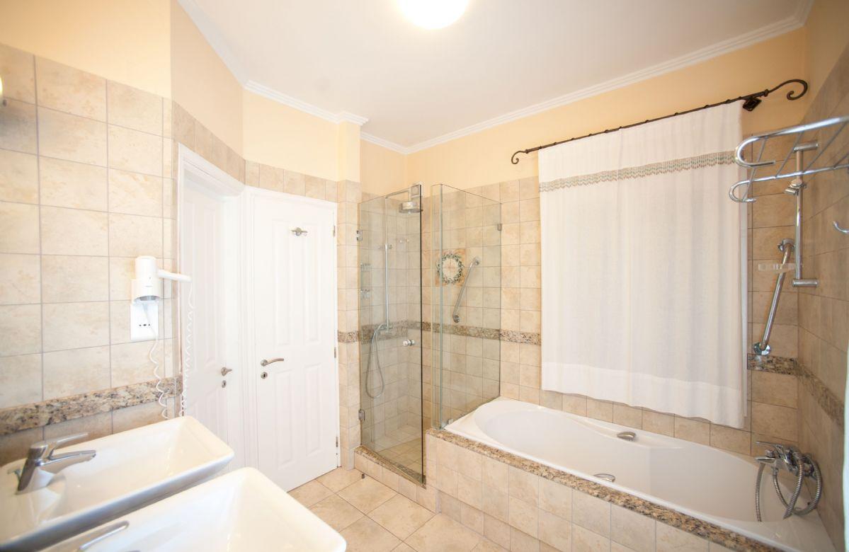 Second floor: En-suite bathroom with walk in shower
