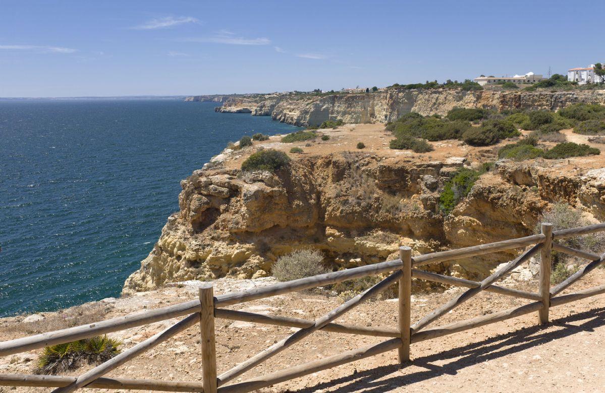 The Algarve coastline