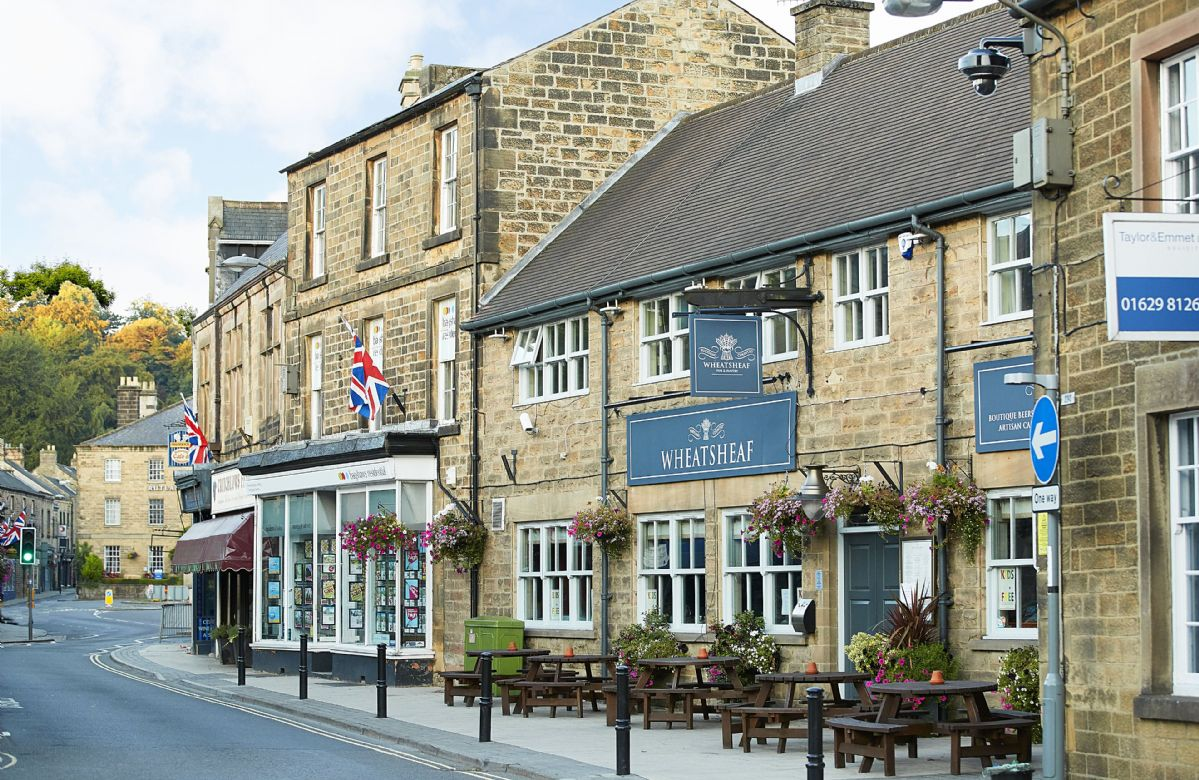 Bakewell has a good selection of independent shops, pubs and restaurants