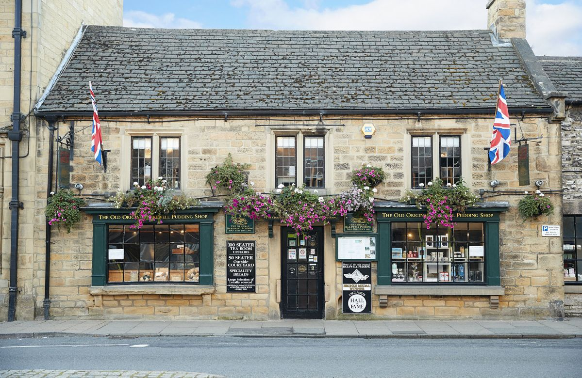 Bakewell is famous  for its unique and delicious Bakewell Pudding