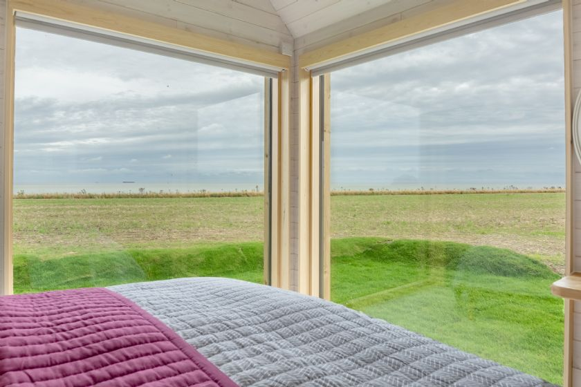 The Watch Room stunning views from the comfort of your own bedroom.