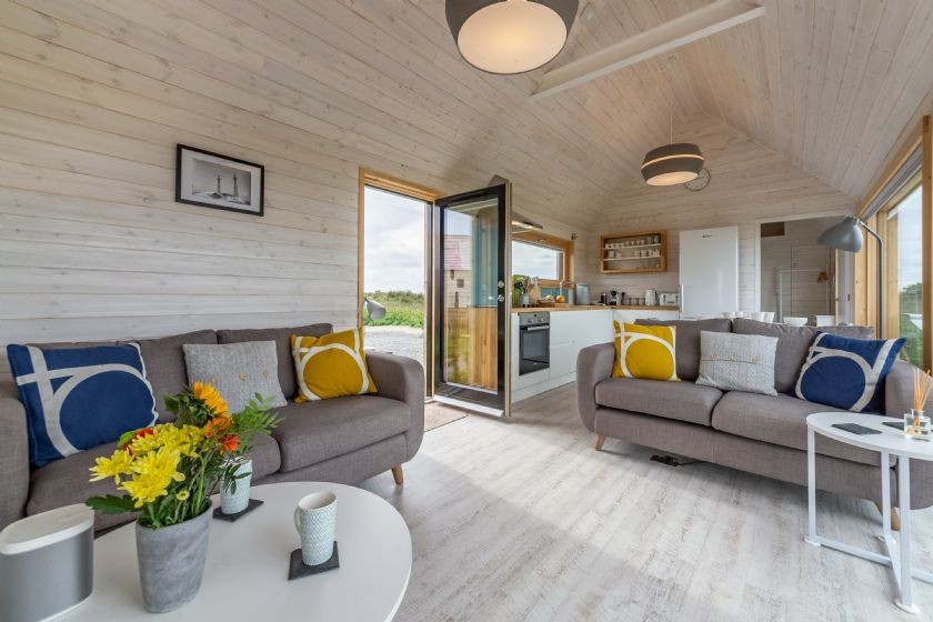 Ground floor: Open-plan kitchen, dining & living area