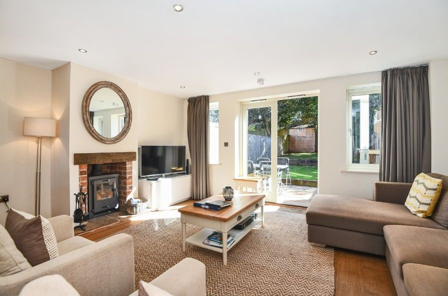 Harrier Cottage in Thornham | Sitting room