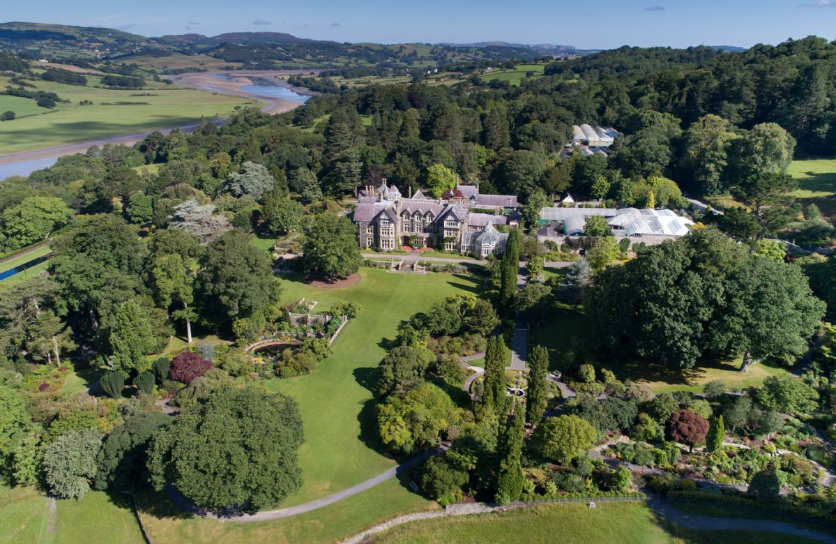 The grounds at Bodnant Estate