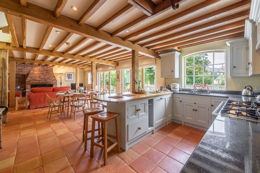 The Granary has been converted and furnished to the very highest standards