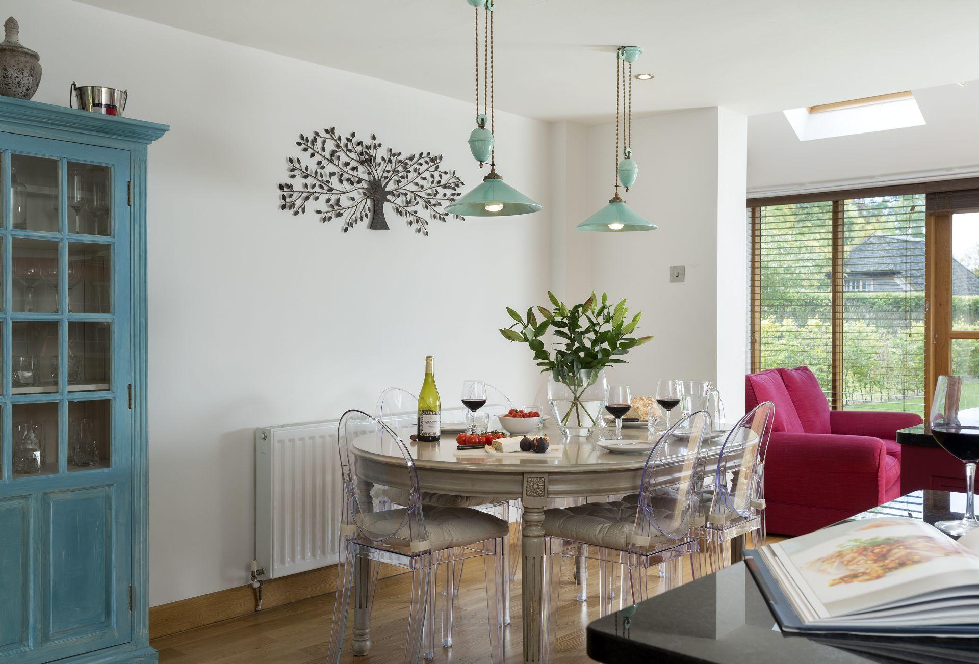 Ground floor:  Open-plan kitchen dining room