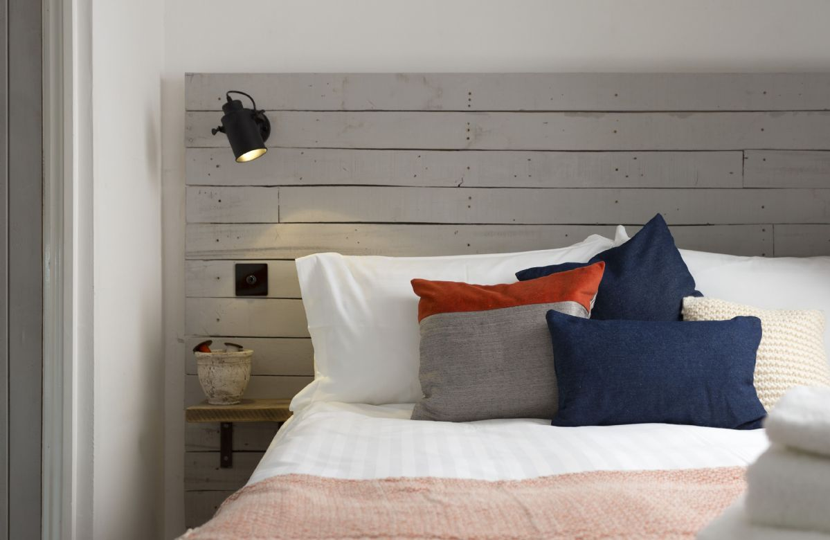 Second floor: A comfortable nights sleep awaits you at Clematis Cottage