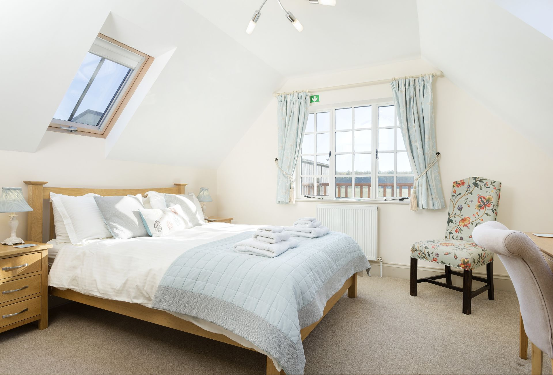 The Hayloft: Double bedroom