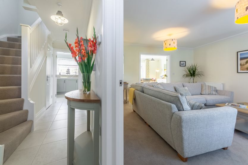 Ground floor: Hallway through to sitting room