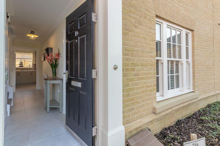 Ground floor: Entrance door