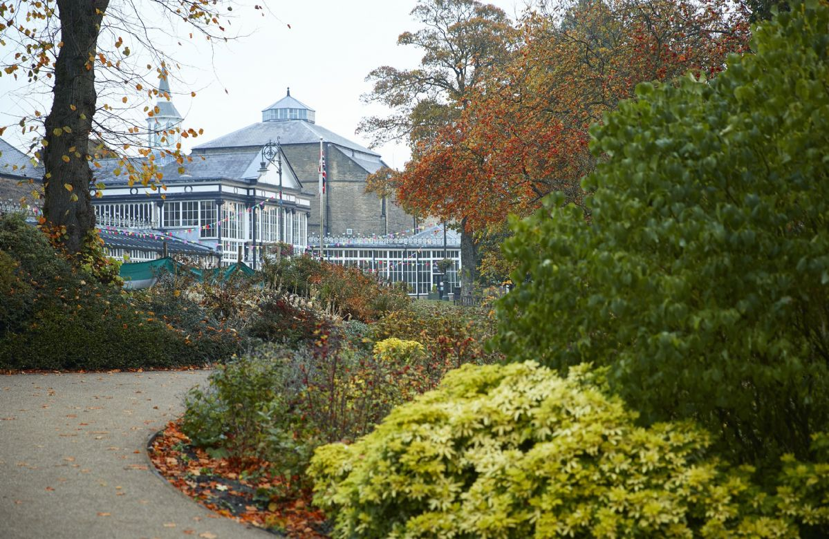 The Pavilion Gardens has 23 acres of gardens and a Grade II listed building  perfect for a family day out