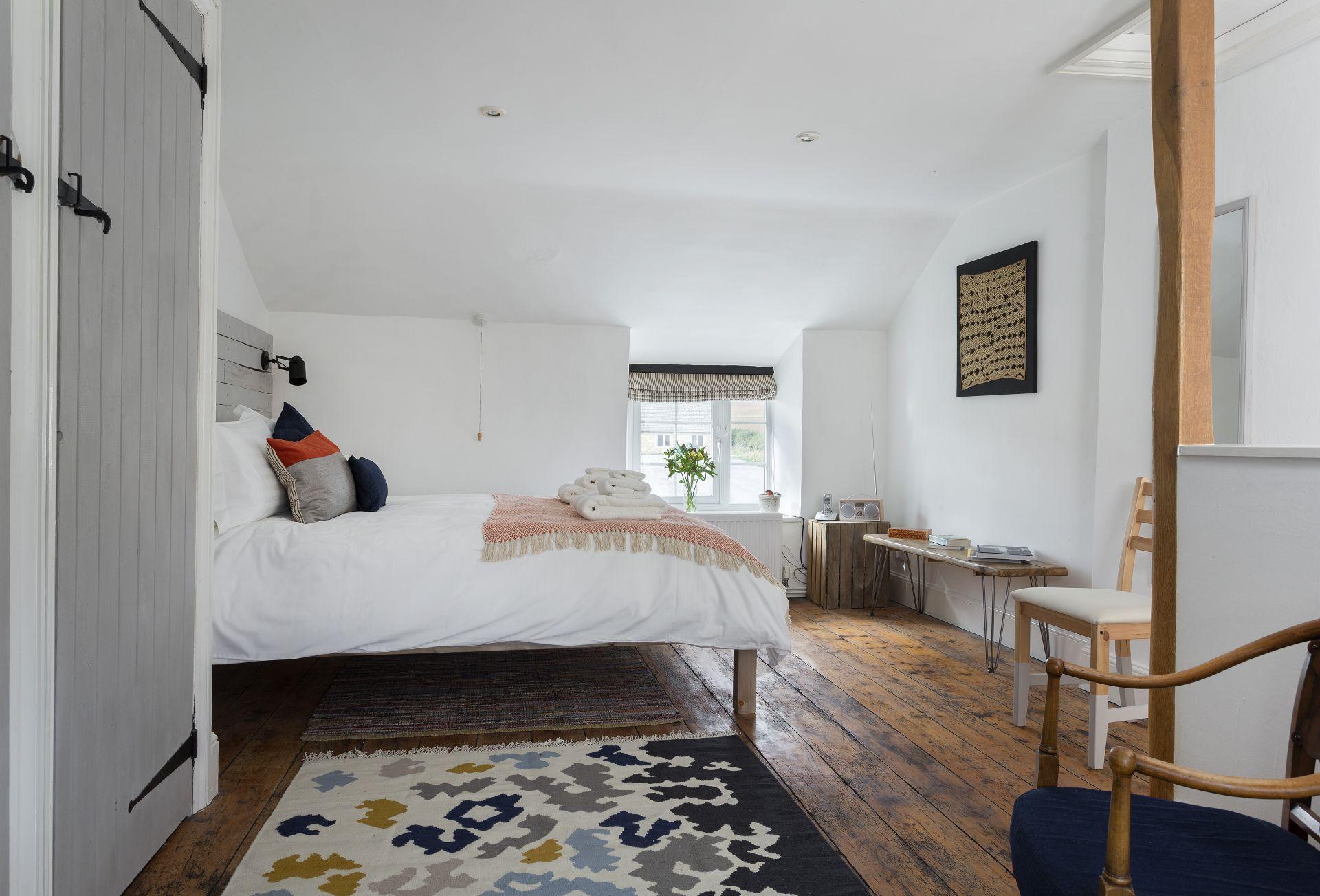Second floor: King-size bedroom