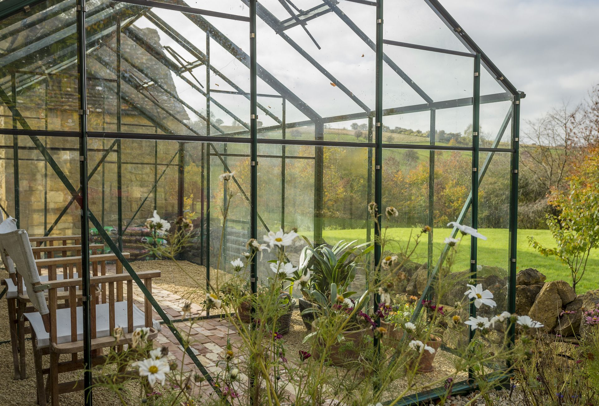 Outside: Greenhouse