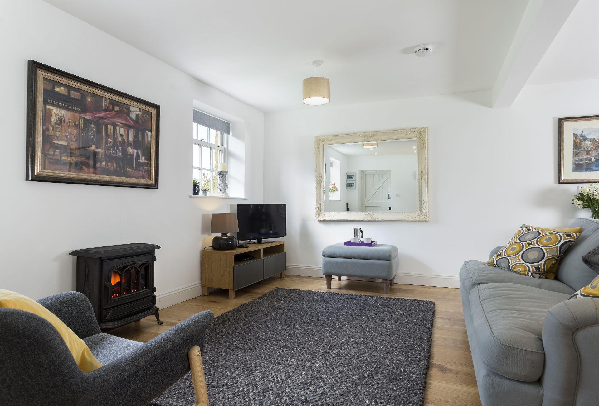 Ground floor: Living area