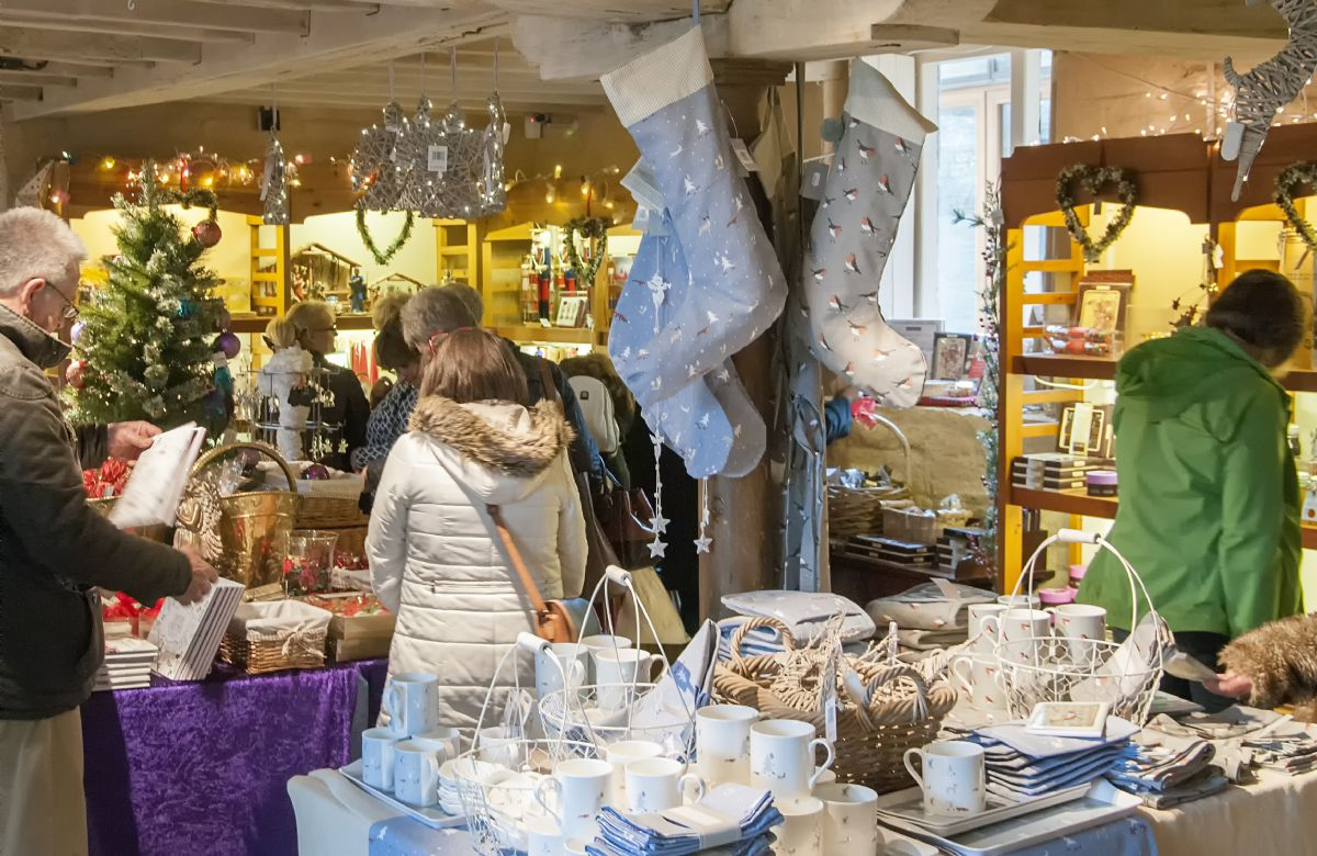 Enjoy the perfect Christmas shopping trip at the Christmas Fair and Fine food market.